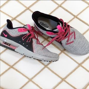 Nike Air Max Sequent 3 Pink & Black (8)